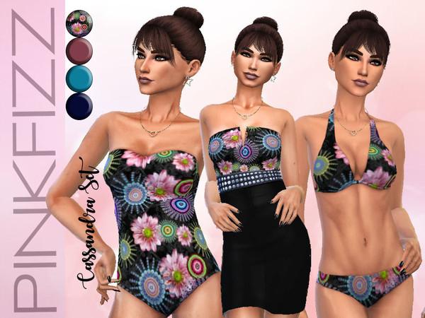 Sims 4 Cassandra Set by Pinkfizzzzz at TSR