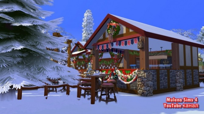 CHRISTMAS MARKET at Sims by Mulena image 1229 670x376 Sims 4 Updates