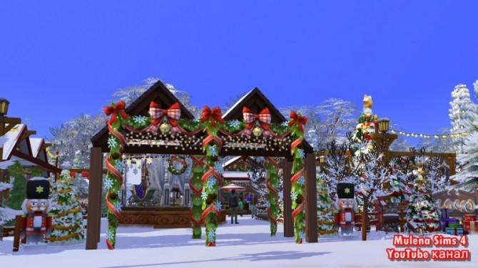CHRISTMAS MARKET at Sims by Mulena image 1248 670x376 Sims 4 Updates