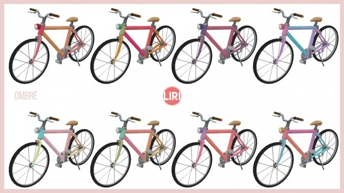 Bicycle Recolours by Lierie at Mod The Sims image 125 670x377 Sims 4 Updates