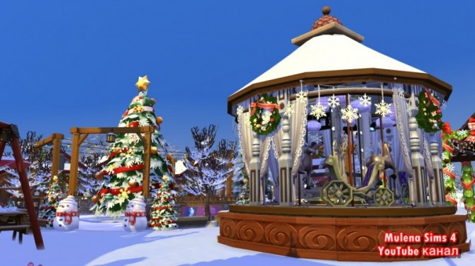 CHRISTMAS MARKET at Sims by Mulena image 1258 670x376 Sims 4 Updates