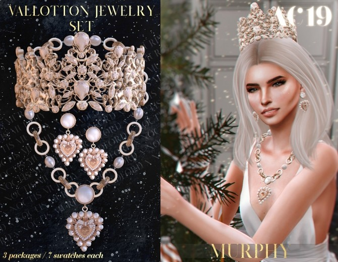 Vallotton Jewelry Set AC 2019 Day 6 by Silence Bradford at MURPHY image 1262 670x519 Sims 4 Updates