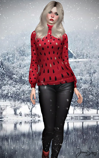 Turtleneck sweater BG Compatible at Jenni Sims image 1271 Sims 4 Updates