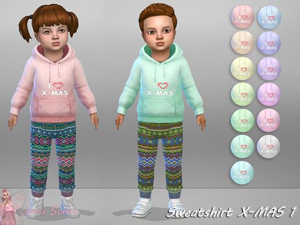 Sims 4 Sweatshirt X MAS 1 by Jaru Sims at TSR