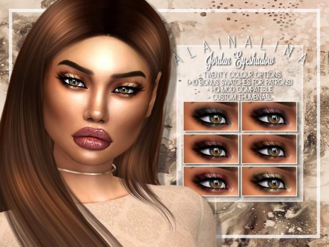 Jordan Eyeshadow at AlainaLina image 1291 670x503 Sims 4 Updates