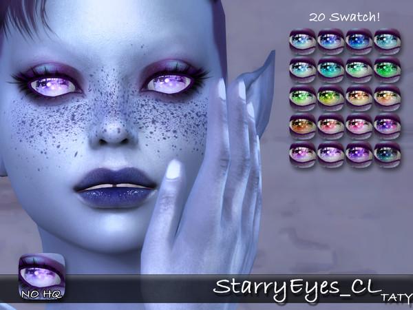 Sims 4 Starry eyes CL by tatygagg at TSR