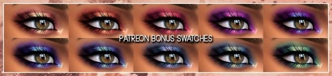 Jordan Eyeshadow at AlainaLina image 1301 670x154 Sims 4 Updates