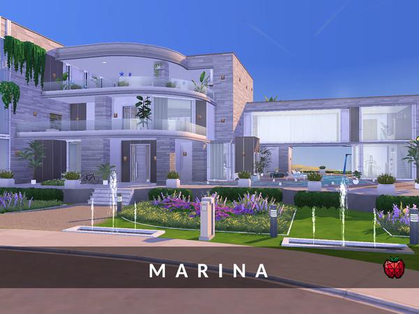 Sims 4 Marina house by melapples at TSR