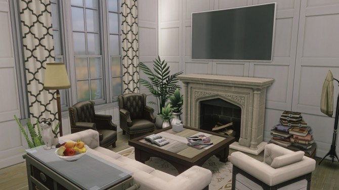 Sims 4 Britechester Penthouse at Harrie