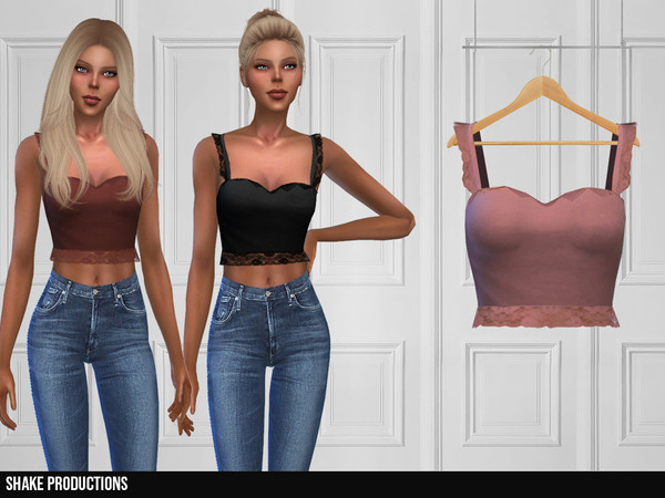Sims 4 355 Top by ShakeProductions at TSR
