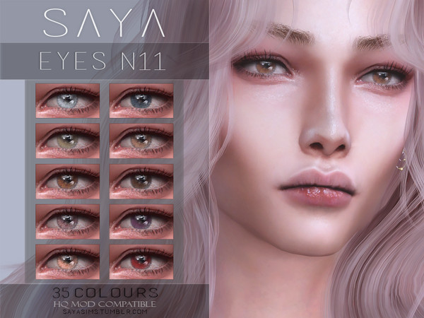 Eyes N11 by SayaSims at TSR image 14112 Sims 4 Updates