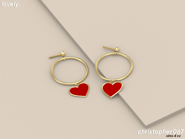 Lovely Earrings by Christopher067 at TSR image 14211 Sims 4 Updates