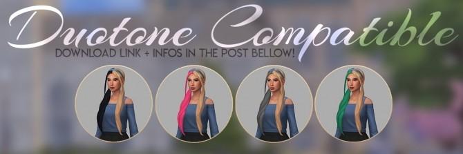 LOTUS HAIR + HEADBAND + TIES ACC RECOLOR at Candy Sims 4 image 1425 670x223 Sims 4 Updates