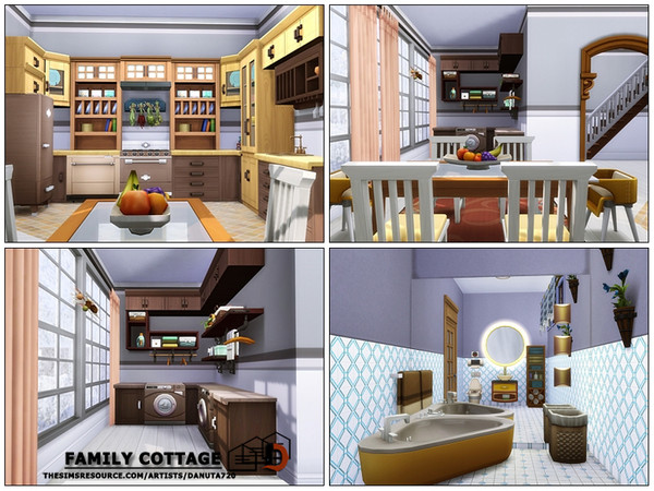 Sims 4 Family cottage by Danuta720 at TSR