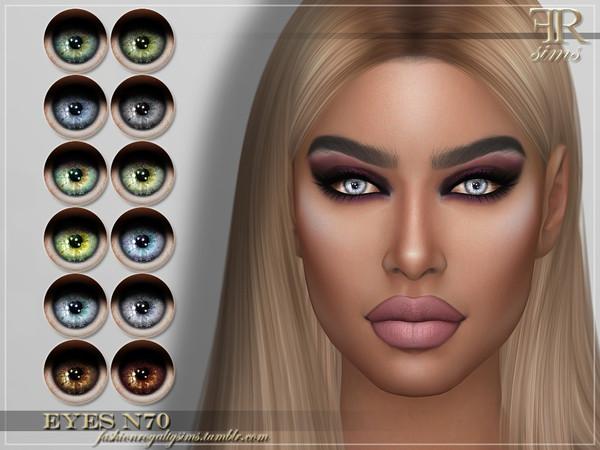 Sims 4 FRS Eyes N70 by FashionRoyaltySims at TSR