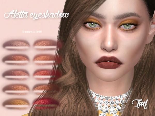 Sims 4 IMF Aletta Eyeshadow N.119 by IzzieMcFire at TSR