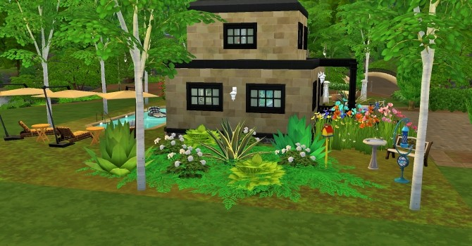 Sims 4 Two story home with basement by heikeg at Mod The Sims