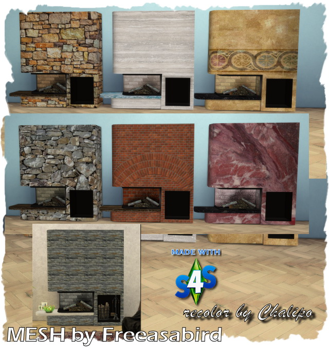 Kamin   Fireplace Glass Tank by Chalipo at All 4 Sims image 15310 Sims 4 Updates