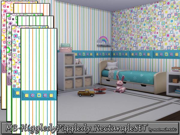 MB Higgledy Piggledy Rectangle SET by matomibotaki at TSR image 154 Sims 4 Updates