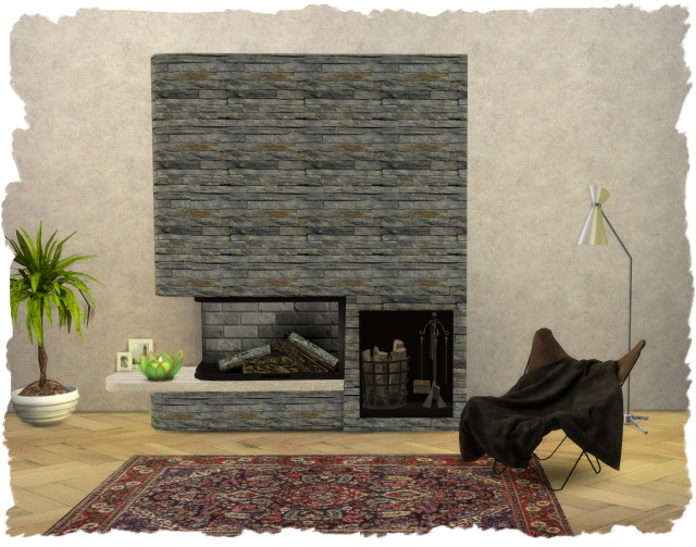 Kamin   Fireplace Glass Tank by Chalipo at All 4 Sims image 1549 Sims 4 Updates