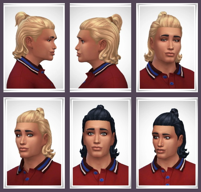 Sims 4 Mateo Hair at Birksches Sims Blog