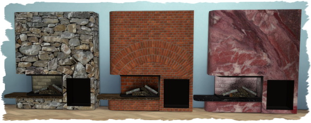 Kamin   Fireplace Glass Tank by Chalipo at All 4 Sims image 1569 Sims 4 Updates