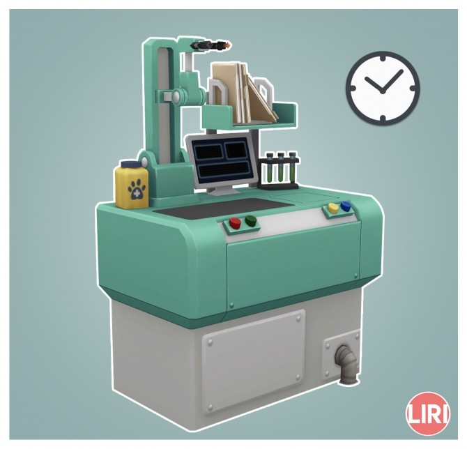 Sims 4 Faster Vet Crafting Station by Lierie at Mod The Sims