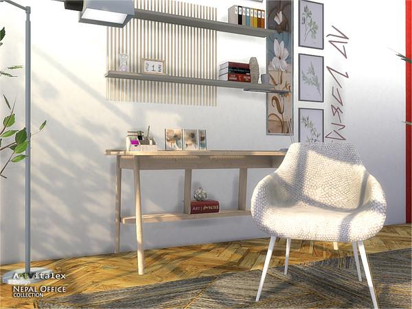 Sims 4 Nepal Office by ArtVitalex at TSR