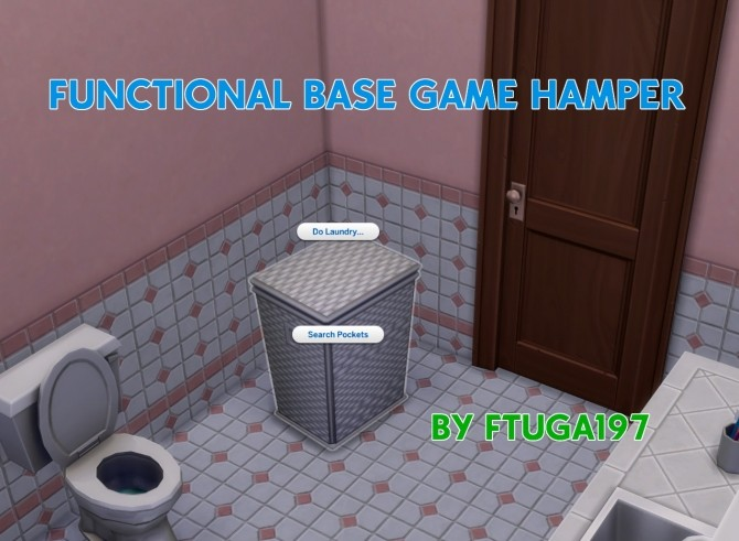 Functional Base Game Hamper by FTuga197 at Mod The Sims image 1592 670x491 Sims 4 Updates