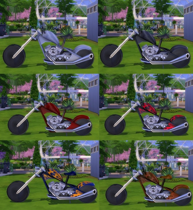 Rideable Motorcycle The Beast modification by Esmeralda at Mod The Sims image 1602 670x728 Sims 4 Updates