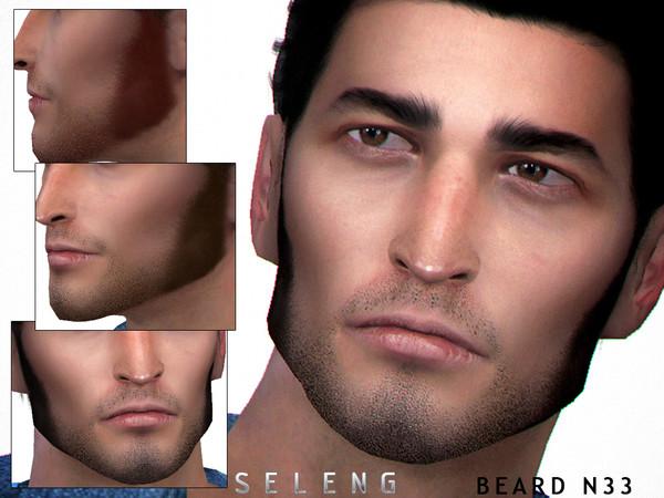 Sims 4 Beard N33 by Seleng at TSR