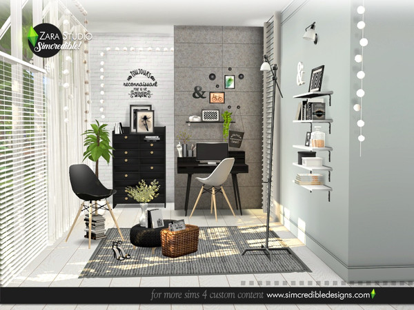 Zara Study set by SIMcredible at TSR image 1647 Sims 4 Updates