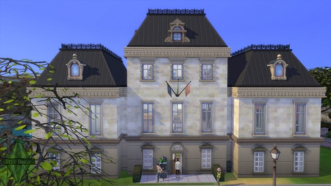 Sims 4 Brite House Dorm No CC by BrazilianLook at Mod The Sims