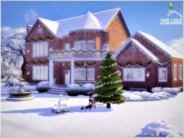 Sims 4 Warm House NB1392 by nobody1392 at TSR