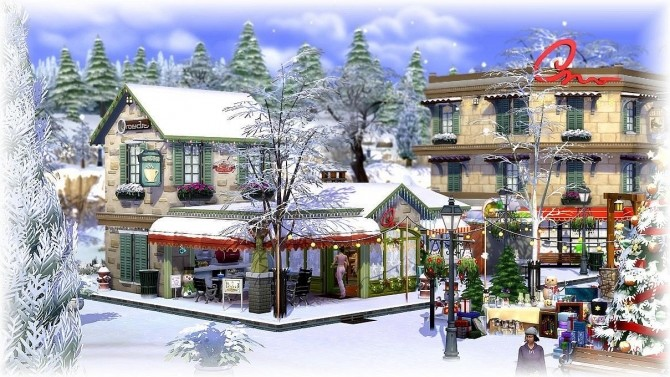Christmas Village By Chipie Cyrano At L Universims 187 Sims