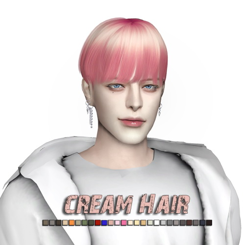 Cream Hair at Lemon Sims 4 image 1834 Sims 4 Updates