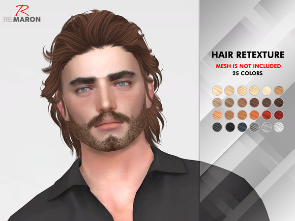 ON1208 Hair Retexture by remaron at TSR image 1930 Sims 4 Updates