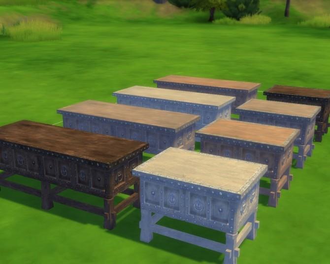 Sims 4 Skyrim Noble Furniture Stand at Mara45123