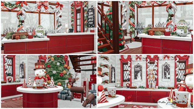 Sims 4 CHRISTMAS SHOP at Luna Sims