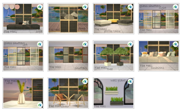 The Hall by nikadema at TSR image 204 Sims 4 Updates