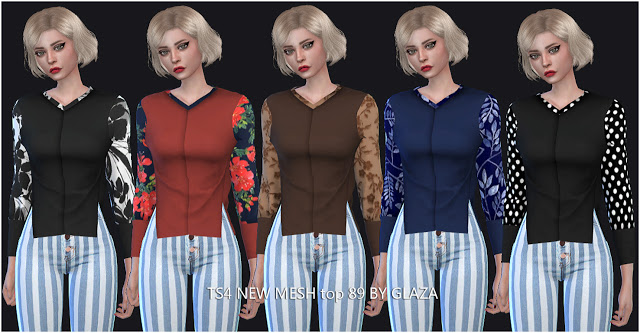 Sims 4 Top 89 at All by Glaza