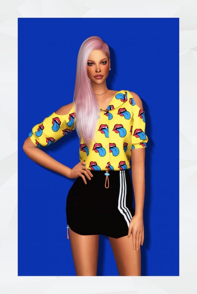 Emily Blouse at Gorilla image 21013 670x999 Sims 4 Updates