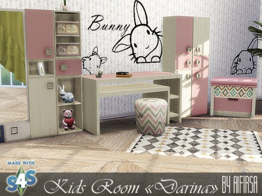 Darina kids room at Aifirsa image 212 Sims 4 Updates