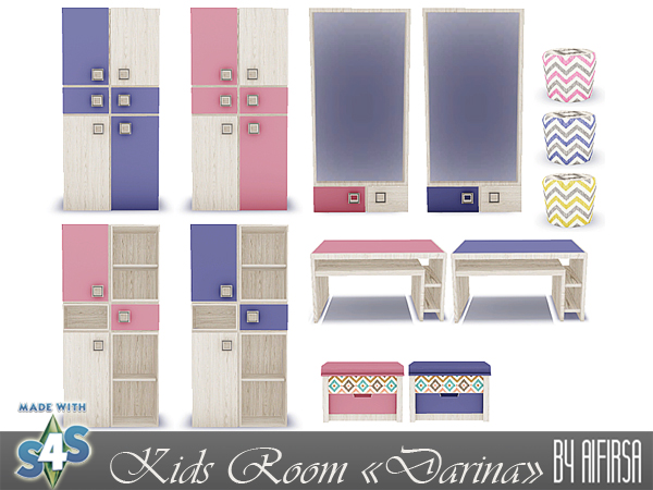 Darina kids room at Aifirsa image 213 Sims 4 Updates