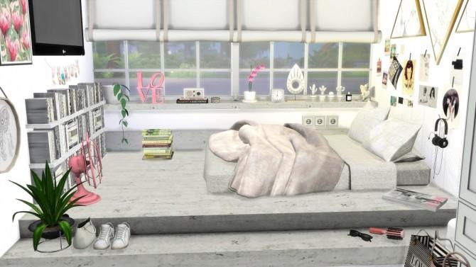 SCANDINAVIAN GIRLS ROOM at MODELSIMS4 image 2141 670x377 Sims 4 Updates