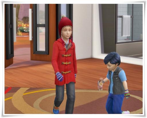 Stripe Wool Gloves Child version at Birksches Sims Blog image 2201 Sims 4 Updates