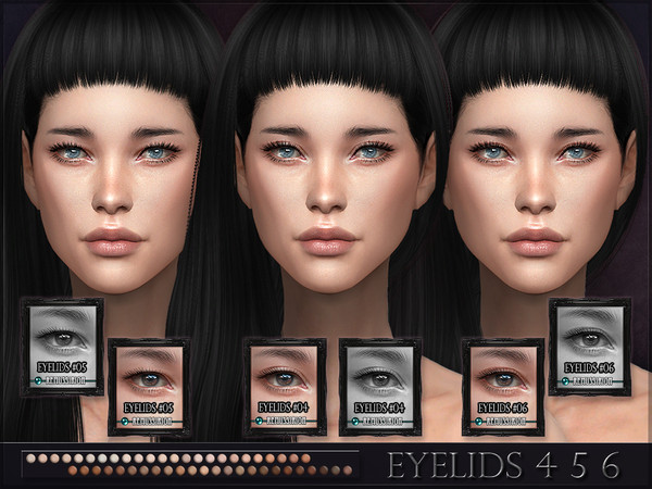 Eyelids 4 5 6 SET by RemusSirion at TSR image 22112 Sims 4 Updates