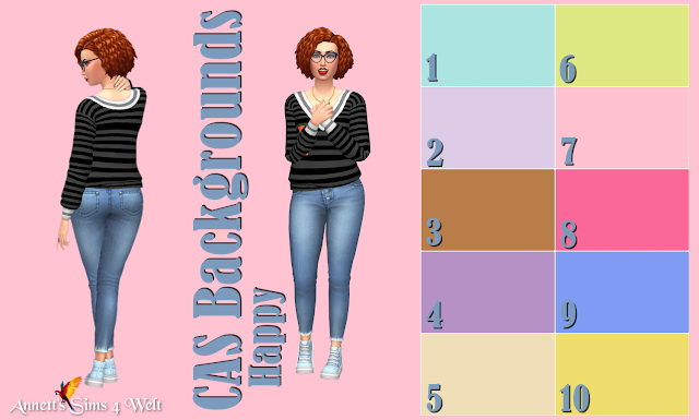 CAS Backgrounds Happy Uni at Annett's Sims 4 Welt image 2215 Sims 4 Updates