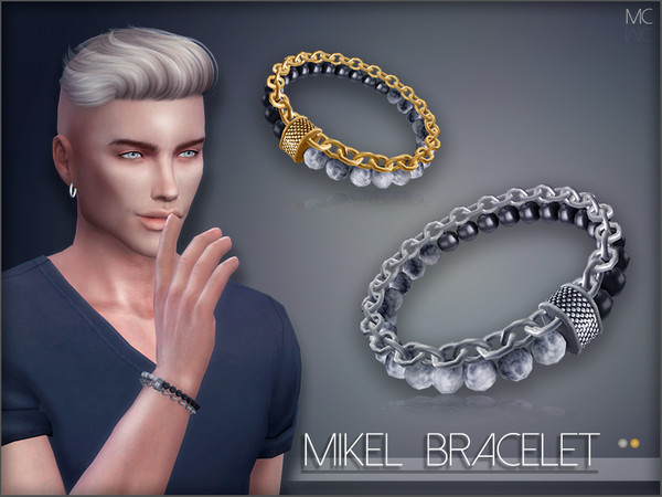 Sims 4 Mikel Bracelet by Mathcope at TSR