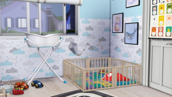 Sims 4 NURSERY ROOM at MODELSIMS4